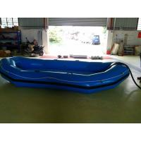 Blue 0.9mm PVC Tarpaulin Inflatable Water Toys For Adult , Walking Shoes Manufactures