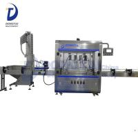 Automatic Twist Off Capping Machine Plastic Bottle Capping Machine Plastic Bottling Fill Seal Machine Manufactures