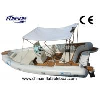 Luxurious 15 Person Inflatable RIB Boats Electric Inflatable Boat RIB730 Manufactures