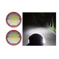 High Intensity 225W Round 9 Inch Driving Lights With Spot / Flood Covers Manufactures