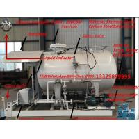 CLW brand 3.2metric tons mobile skid lpg gas refilling plant for sale, 32000kgs auto mobile Propane Skid-mounted plant Manufactures