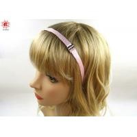 Handmade Simple Metal Bow Girls Hair Bands Accessories For Short Hair Manufactures