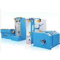 JDT-13D Copper Medium Wire Drawing Machine With Online Annealing Gear Type Manufactures