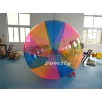 1.0mm PVC / TPU Colorful Inflatable Water Walking Ball With Custom Logo Manufactures