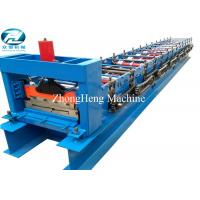 Metal Side Wall Panel Glazed Tile Roll Forming Machine , Roll Former Machine Manufactures