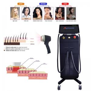 Painless 808nm Diode Laser Hair Removal Machine For Fast Full Body Hair Removal Manufactures