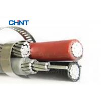 Low Voltage Aerial Bundled Cable PVC XLPE PE Insulated Overhead Electric Transmission Manufactures