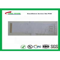 White Color Flexible PCB Design Single Sided with Immersion Gold Manufactures
