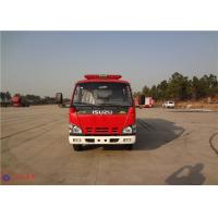 Strobe Lights Installed Water Tanker Fire Truck With Hydraulic Control Clutch Manufactures