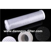 "10"" 20"" CTO Filter Activated Carbon Block Filter with Coal Carbon Or Coconut Carbon Manufactures"