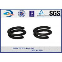 65Mn Spring Steel Double Coil Washer / Bouble Layer Waher Black Surface Treatment Manufactures