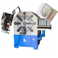 Camless Wire Bending Equipment, 12 Axis Automatic Spring Coiling Machine Manufactures