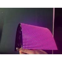 Quality P2 SMD Indoor Flexible Led Video Curtain , Flexible Led Display Screen Full for sale