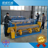3M Full Automatic Wire Mesh Weaving Machine / Weaving Diameter 1.4mm - 5.0mm Manufactures