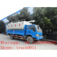 Quality best price animal feed tank mounted on cargo truck for sale, factory direct sale farm-oriented feed pellet tank truck for sale
