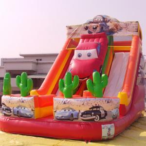 Durable Inflatable Slides Inflatable Car Slides for Amusement Center Manufactures
