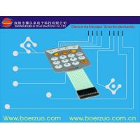 Embossed Flat Metal Dome PCB Single Membrane Switch For Function Keyboard Manufactures