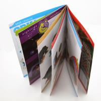 saddle stiching Full Color Booklet Printing with Hot Stamping on the Cover for business Manufactures