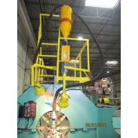 Automatic Street Pole Hydraulic Sewing and Welding CO2 / SAW Working Principle with Flux Recovery System Manufactures