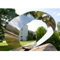 Garden Decor Stainless Steel Sculpture Eye Stainless Steel Mirror Sculpture Manufactures