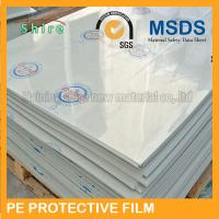 Plastic Panel Hard Surface Protection Film Polyethylene Protective Tape No Bubble Manufactures