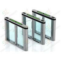 Width Lane Security Waist Height Turnstile Entry Systems Core Biometric Swing Barrier Manufactures