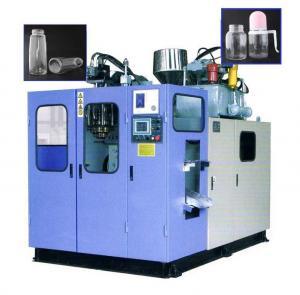 100-2000ml Small Plastic Bottle Making Machine , Semi Automatic PET Bottle Blowing Machine Manufactures