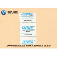 Anti Static FFS Heavy Duty Plastic Bags For Fast Delivery Powder Products Packing Manufactures