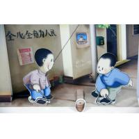 Softcover Art Paper Pop Up Book Printing For Kids Playing , Eco-Friendly Manufactures