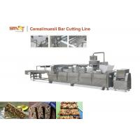 Siemens PLC Control Cereal Bar Cutting Machine Easy Operated With Touch Screen Manufactures