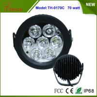 Quality 6.2 Inch 70W LED Work Light Flood off Road SUV 4WD ATV Truck Car Super Bright for sale