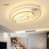Quality New Aluminum+Acrylic Modern led ceiling lights for living room bedroom Home Dec for sale