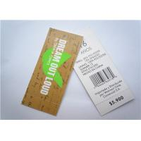 China Recyclable Clothing Label Tags Jeans Paper Hang Tag Garment Accessory on sale