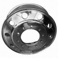 Forged aluminum alloy truck wheels with TR542 valve Manufactures