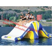 Quality Inflaable Best Sale inflatable floating water slide adults inflatable water for sale