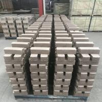 Common Kiln Refractory Bricks , Phosphate Bonded High Alumina Bricks Heat Resistant Manufactures