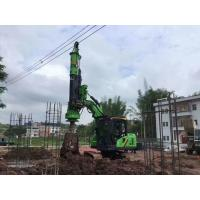 TYSIM KR40A Mini Hydraulic Rotary Drilling Rig Foundation Piling Equipment 40KNm Max Torque  with Max 12m Pile Depth Manufactures