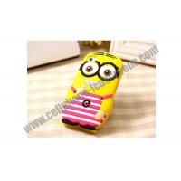 Quality TPU Cute Cell Phone Protective Cases Yellow Durable For iPhone / Samsung for sale
