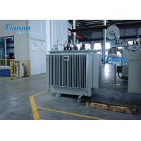 S11 Power Oil Immersed Power Transformer 3 Phase Core Type Transformer
