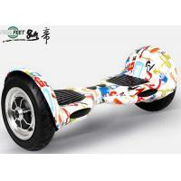 High Speed Off Road 2 Wheel Self Balance Electric Standing Scooter With Led Light Manufactures