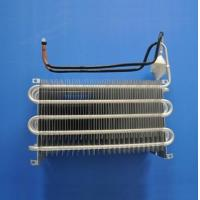 Blue Coating Fin Tube Heat Exchanger / Finned Pipe Heat Transfer Copper Material Manufactures