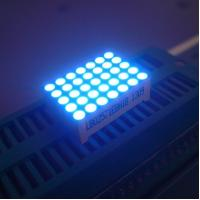 Good Consistency 5 x 7 LED Dot Matrix Display Yellow Segments Black Face Manufactures