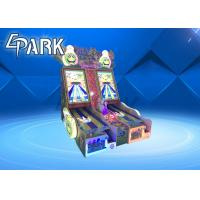 42 Inch Screen Amusement Game Machines / Indoor Double Fight Adventure Arcade Cricket Bowling Machine Manufactures