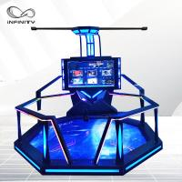 Fashion Exclusive 9D VR Shooting Simulator For Game Zone /  Theme Park Manufactures