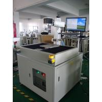 Professional 50W Metal Laser Marking Machine , Crossing Moving Working Table Manufactures