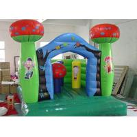 210 D Oxford Fabric Commercial Bounce Houses of Kindergarten Theme Manufactures