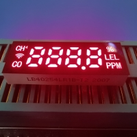 Buy cheap Common Anode Ultra Red Customized 7 Segment Led Display Module For Harmful Gas from wholesalers