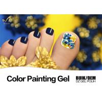 Strong Adhesion Uv Gel Paint For Nails Remove Easily Environment - Friendly Manufactures