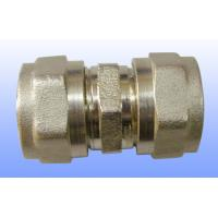 compression brass fitting equal straight for PEX-AL-PEX Manufactures