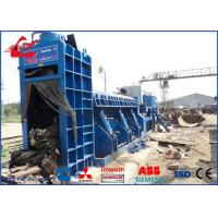 Buy cheap Hydraulic Shear Baler Waste Metal Scrap Shear Baling Machine PLC Automatic Control from wholesalers